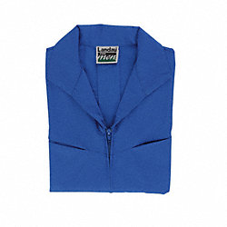 Lab Jacket, L, Blue, 32 In. L