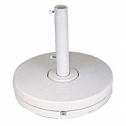 35lb Umbrella Base Ring, White