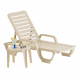 Chaise Lounge, Adjustable, Sand