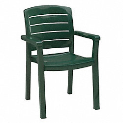 Armchair, Ladderback, Amazon Green
