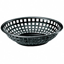 Basket, Round, Black, PK 36