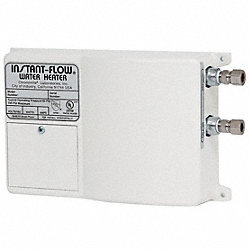 Water Heater, Tankless, 120 V, 1800 Watt