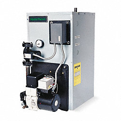 Oil Fired Boiler, 34-3/4 In. H, 18 In. W