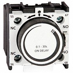 IEC Timer, On Delay , .1-3Sec, 1NO/1NC