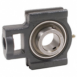 Take-Up Bearing, Bore 1-1/2 In, Wide Slot