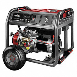 Portable Generator, Rated Watts7000, 420cc