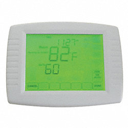 Touch Screen Thermostat, 1H, 1C, 7 Day