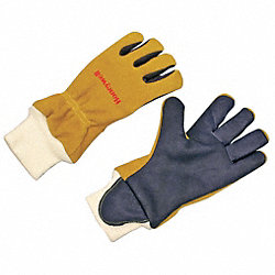 Firefighters Gloves, L, Kangaroo, PR