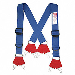 Fire Fighting Pant Suspenders, 48 In. L