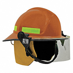 Fire Helmet, Orange, Modern