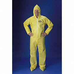 Hooded ChemMax(R) 1, Yellow, Boots, 4XL