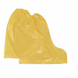 Chem-Resistant Boot Covers, Yellow, PK25