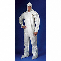 Hooded ChemMax(R) 2, White, Bound, 2XL
