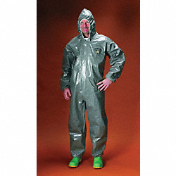 Hooded ChemMax(R) 3, Gray, Elastic, M