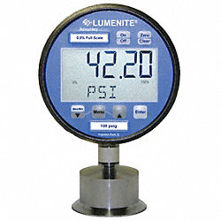 Digital Gauge/Transducer, 1-1/2In, 1000psi