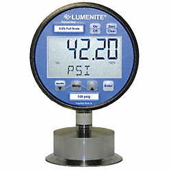 Digital Gauge/Transducer, 2 In, 30 psi