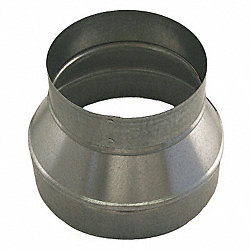 Duct Fitting, Reducer, 6x5, 24 Gauge