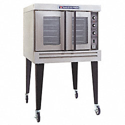 Gas Convection Ovens, H 63-3/8 In