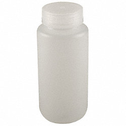 Bottle, 500 mL, 16 Oz, Wide Mouth, Pk 12