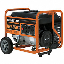 Portable Generator, Rated Watts3250, 208cc