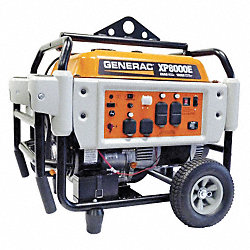 Portable Generator, Rated Watts8000, 410cc