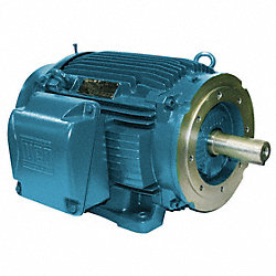 Mtr, 3 Ph, 10 HP, 1760, 208-230/460, Eff 91.7