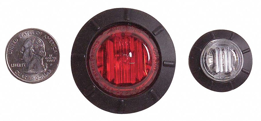 Maxxima Clearance Marker, 6led, P2pc, 1-1/4in, Amber M09400YCL at Sears.com