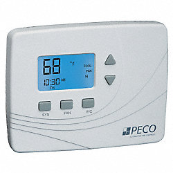 Thermostat, Wireless, PTAC/Fan Coil