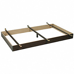 Bed Base, Capacity 500 lbs, Twin, 38 In.