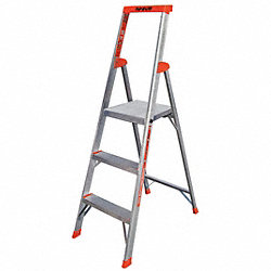 Platform Stepladder, 5 ft. H, 13-1/2 In. W