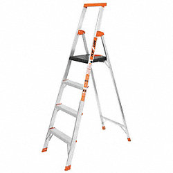 Platform Stepladder, 6 ft. H, 13-1/2 In. W