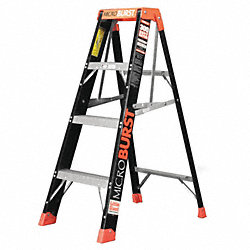 Multipurpose Ladder, 4 ft., IA, Fiberglass