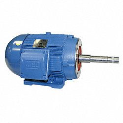 Pump Motor, 3-Ph, 1.5 HP, 1760, 208-230/460V