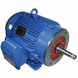 Pump Mtr, 3-Ph, 5hp, 3510, 208-230/460, 184JM