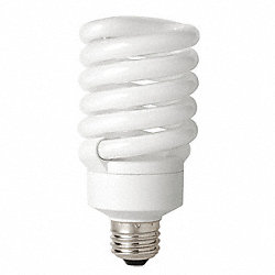 Screw-In CFL, 27W, T3, Medium