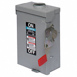 Safety Switch, NEMA 3R, 4W, 3P, 8x14.6x26