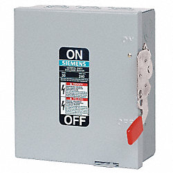 Safety Switch, NEMA 1, 4W, 3P, 9x8.5x5.5