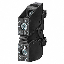 Contact Block, 1NO/1NC, Non-Ill, 22mm
