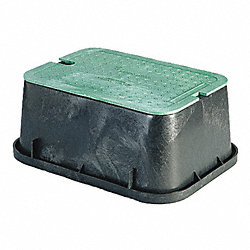 Extension Valve Box, HDPE, 12 In