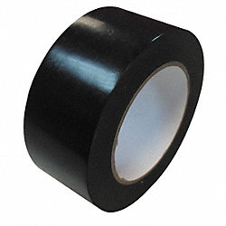 Marking Tape, Roll, 2In W, 108 ft.L, Black