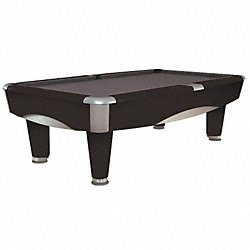Metro 8ft Billiards Table Black pocket