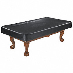 Pool Table Cover, Black, 9 Ft.