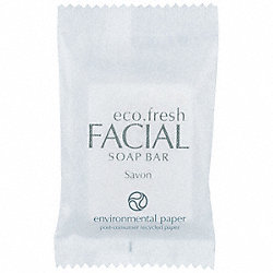 Facial Bar Soap, .53 oz., Pk 400