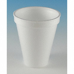 Cup, Disposable, 8 Oz, White, PK 1000