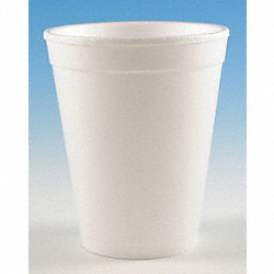 Cup, Disposable, 10 Oz, White, PK 1000