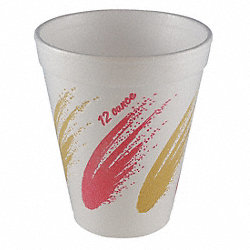 Cup, Disposable, 12 Oz, Simplicity, PK 1000
