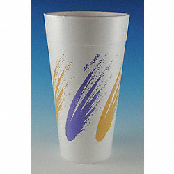 Cup, Disposable, 42 Oz, Simplicity, PK 250