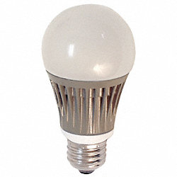 LED Light Bulb, A19, 3000K, Warm