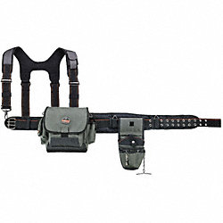 Installer Tool Belt w/Suspenders, Large
