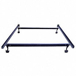 Bed Frame, Capacity 500 lbs, Queen, 60 In.